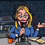 Visita de la Tropa a Radio Castilla
